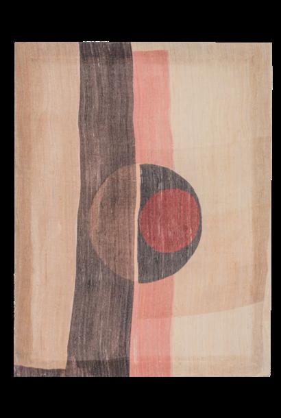 Schilderij Khadi silk 50x65cm Creme