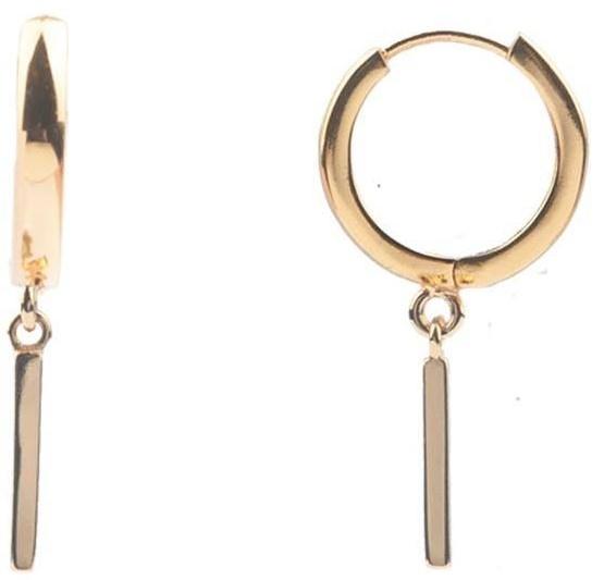 Oorring PER STUK Souvenir Bar Gold-1