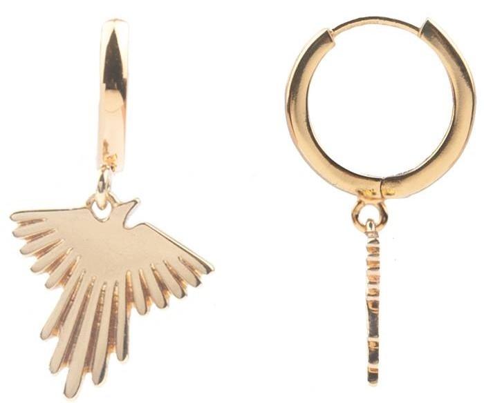 Oorring PER STUK Souvenir Eagle Gold-1