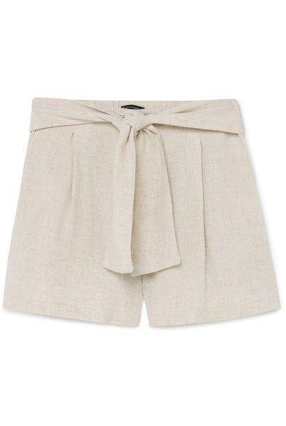 Short Lino cintura lazo Desert