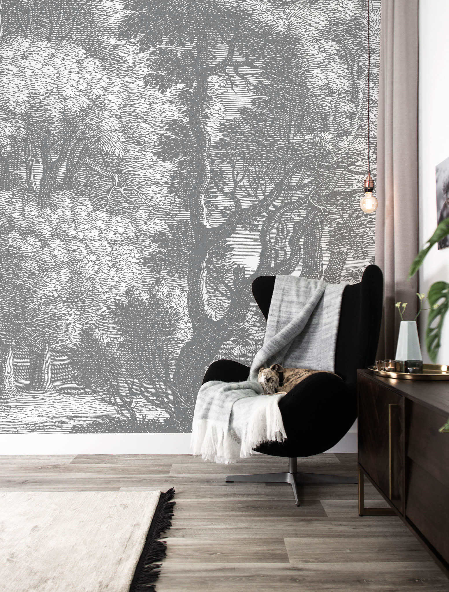 Behang Engraved Landscapes 194.8x280cm-2