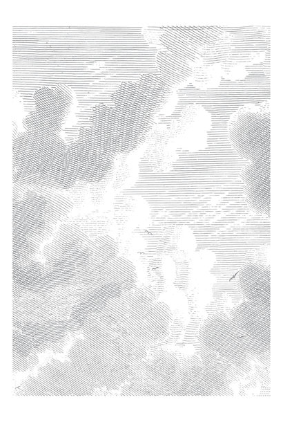Behang Engraved Clouds 194.8x 280cm