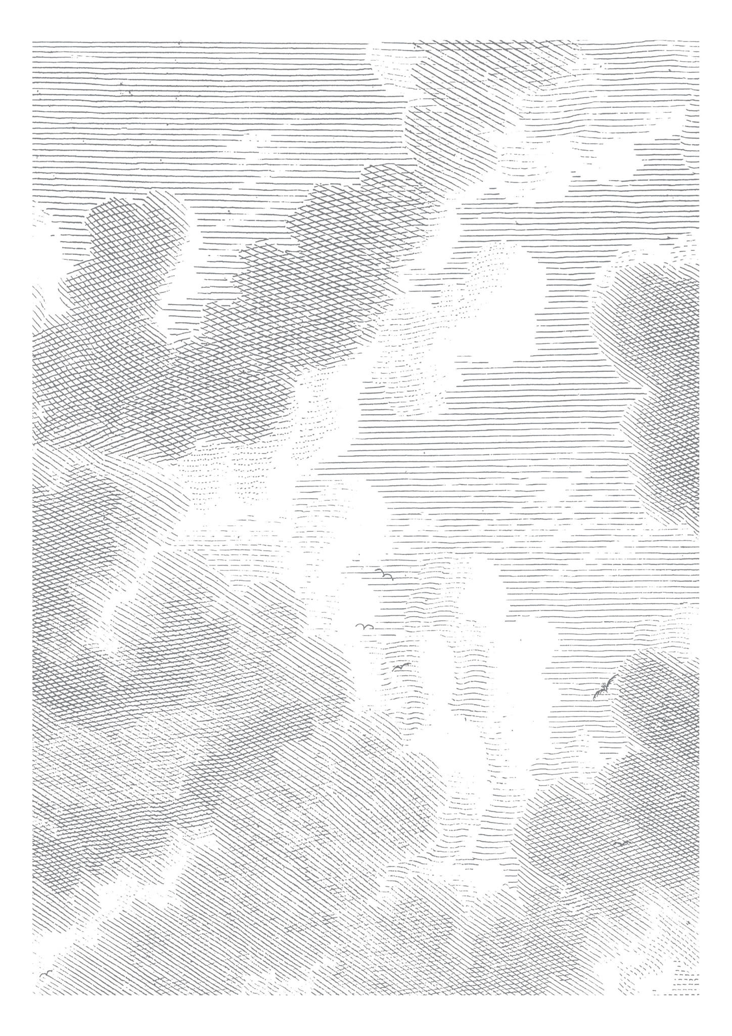 Behang Engraved Clouds 194.8x 280cm-1