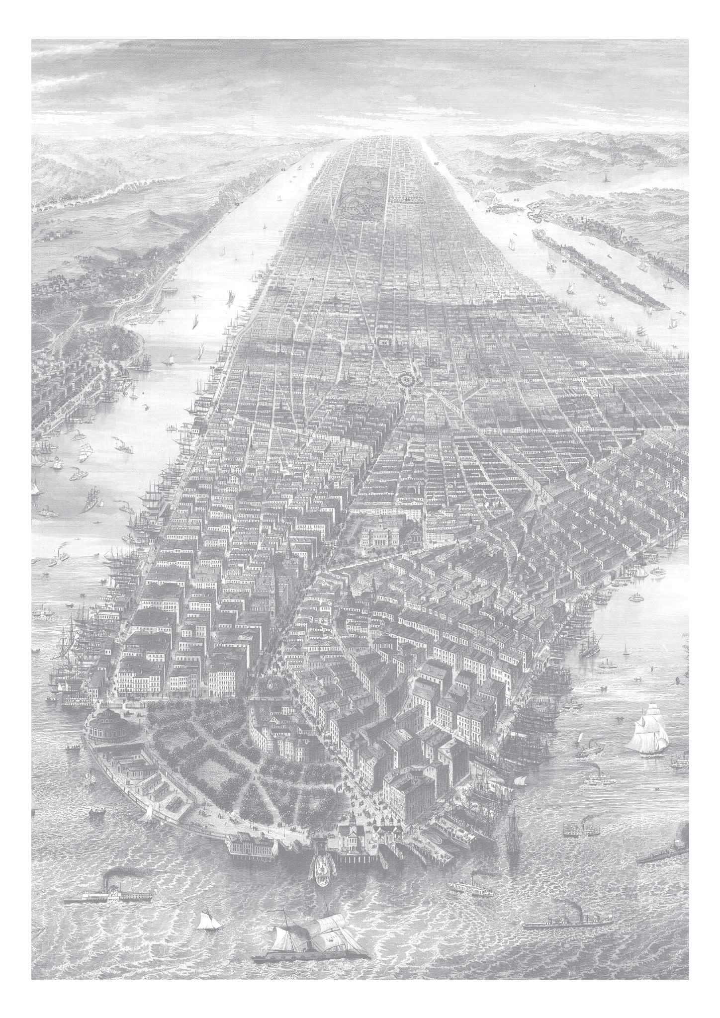Behang Engraved Landscapes 194.8x280cm-3