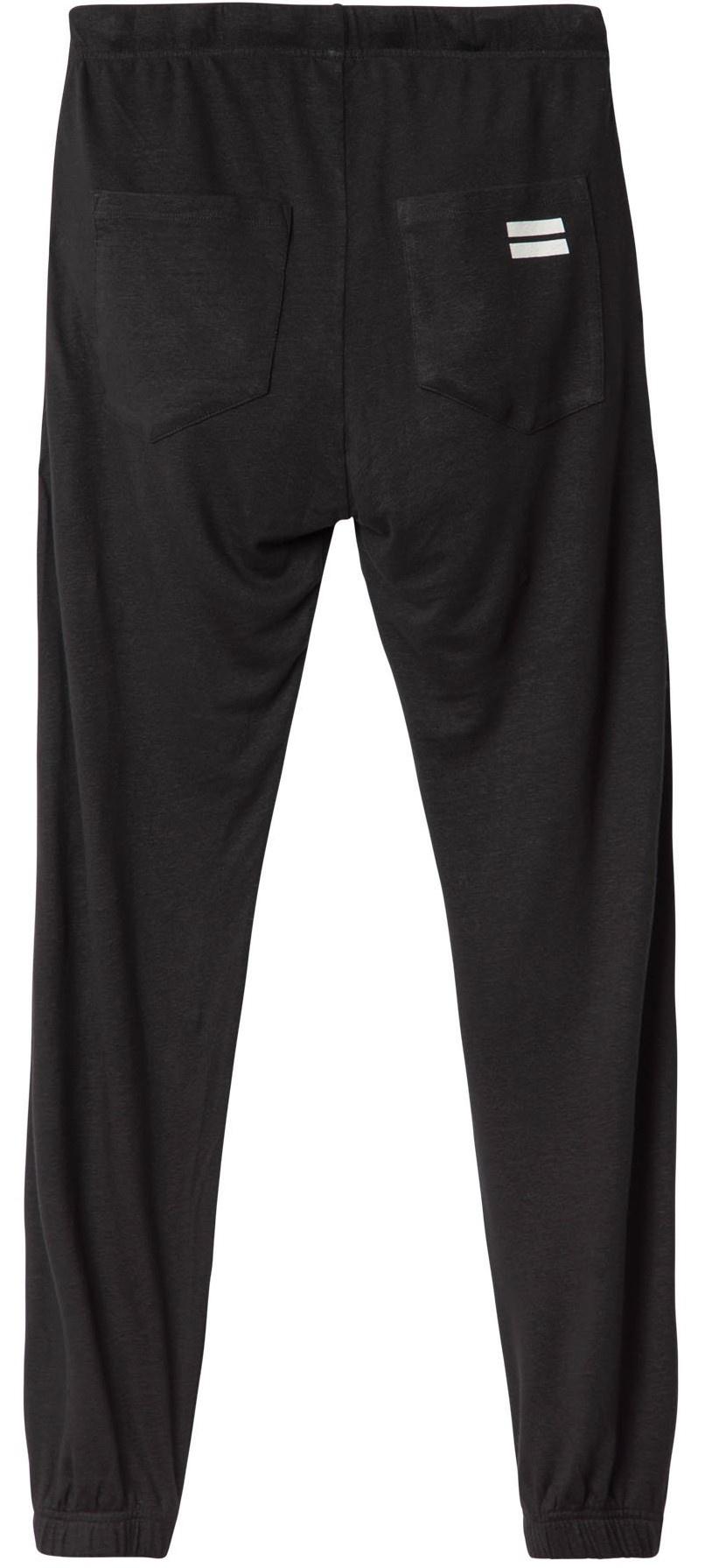 Broek jogger linen Black-3