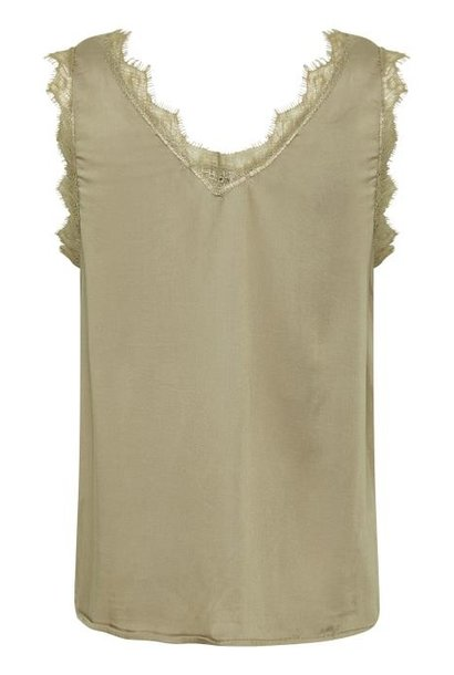 Top AlenaCR stretch Chai Beige