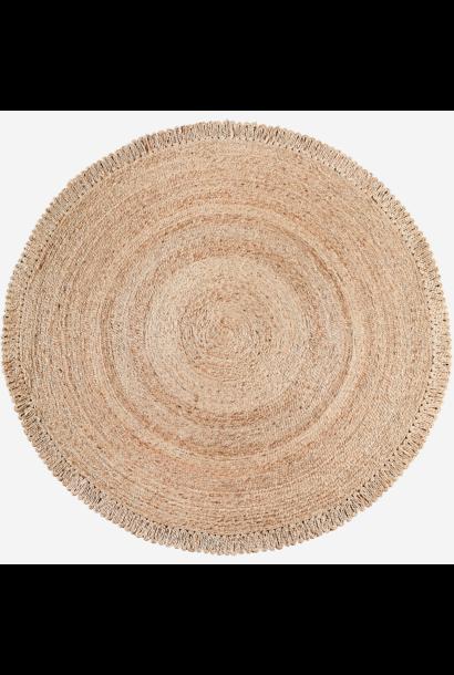 Vloerkleed Round jute Ø180cm Natural