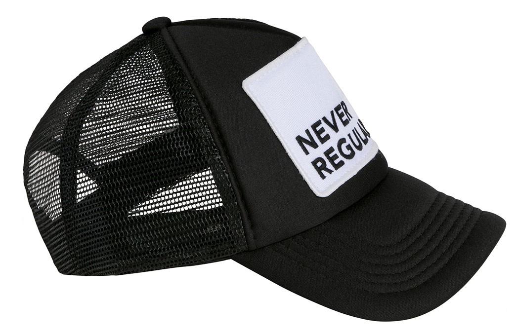 Cap Never Regular Black-2