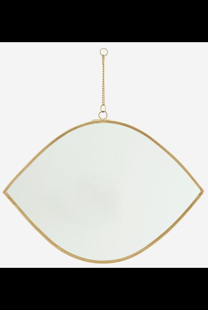 Spiegel hanging 26cm Gold
