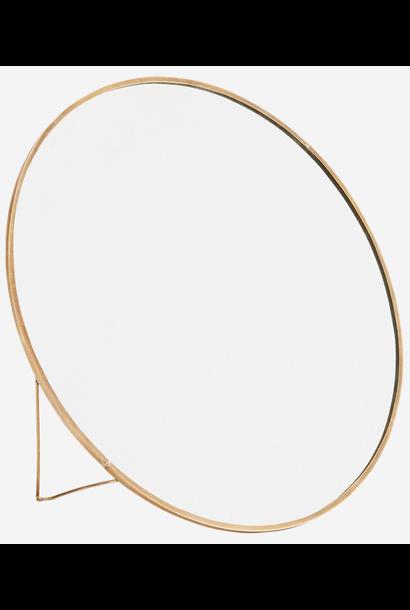 Spiegel Round standing 27cm Gold