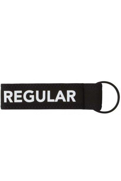 Sleutelhanger Never Regular Black