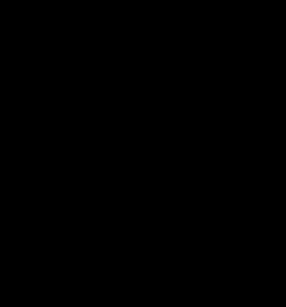 Korf H40cm  Ø54cm Zwart-1
