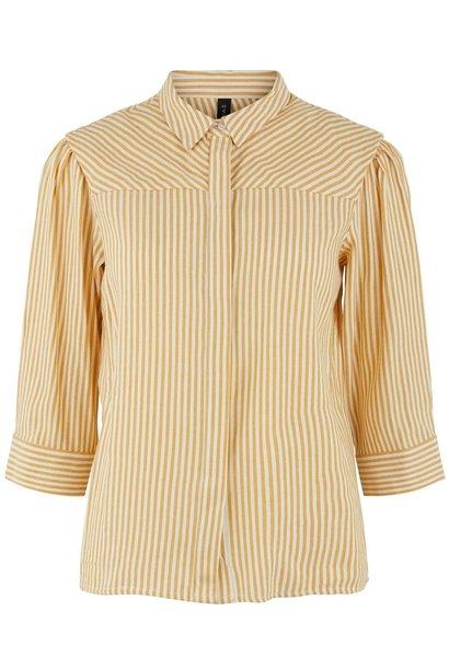 Blouse Yasember 3/4 Golden Stripes