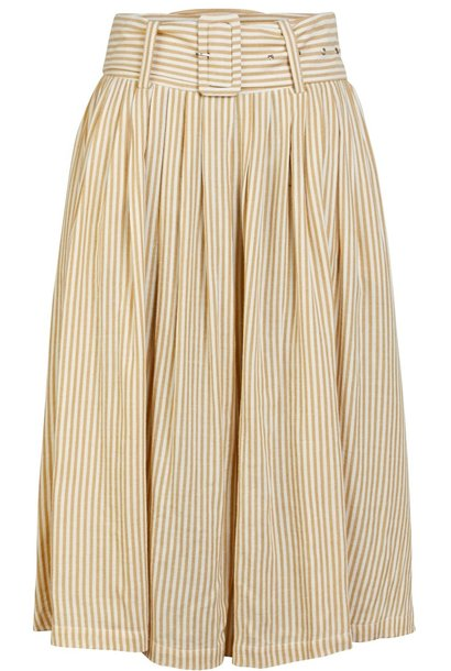 Rok Yasember midi Golden Stripes