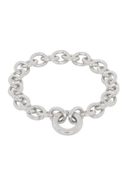 Armband Circle 18cm Silver