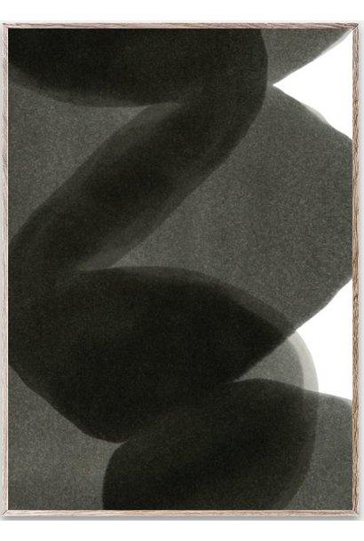 Poster Enso Black ll 50x70cm