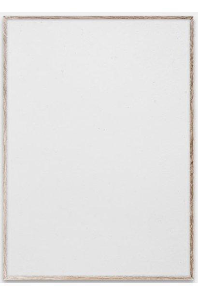 Lijst PC frame 100x70cm plexiglass Oak