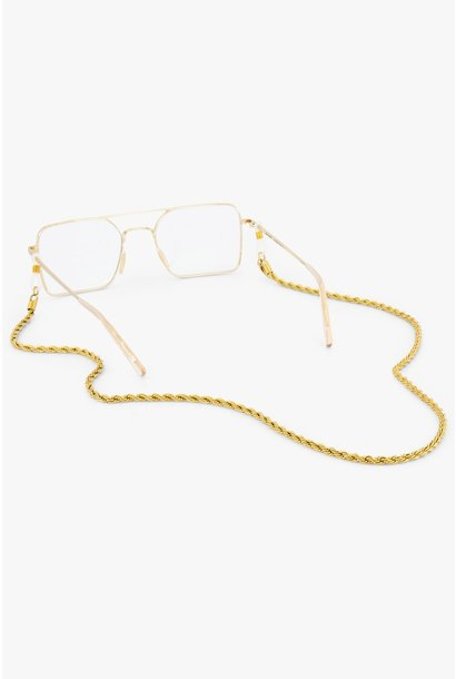 Sunnycord snake chain gold