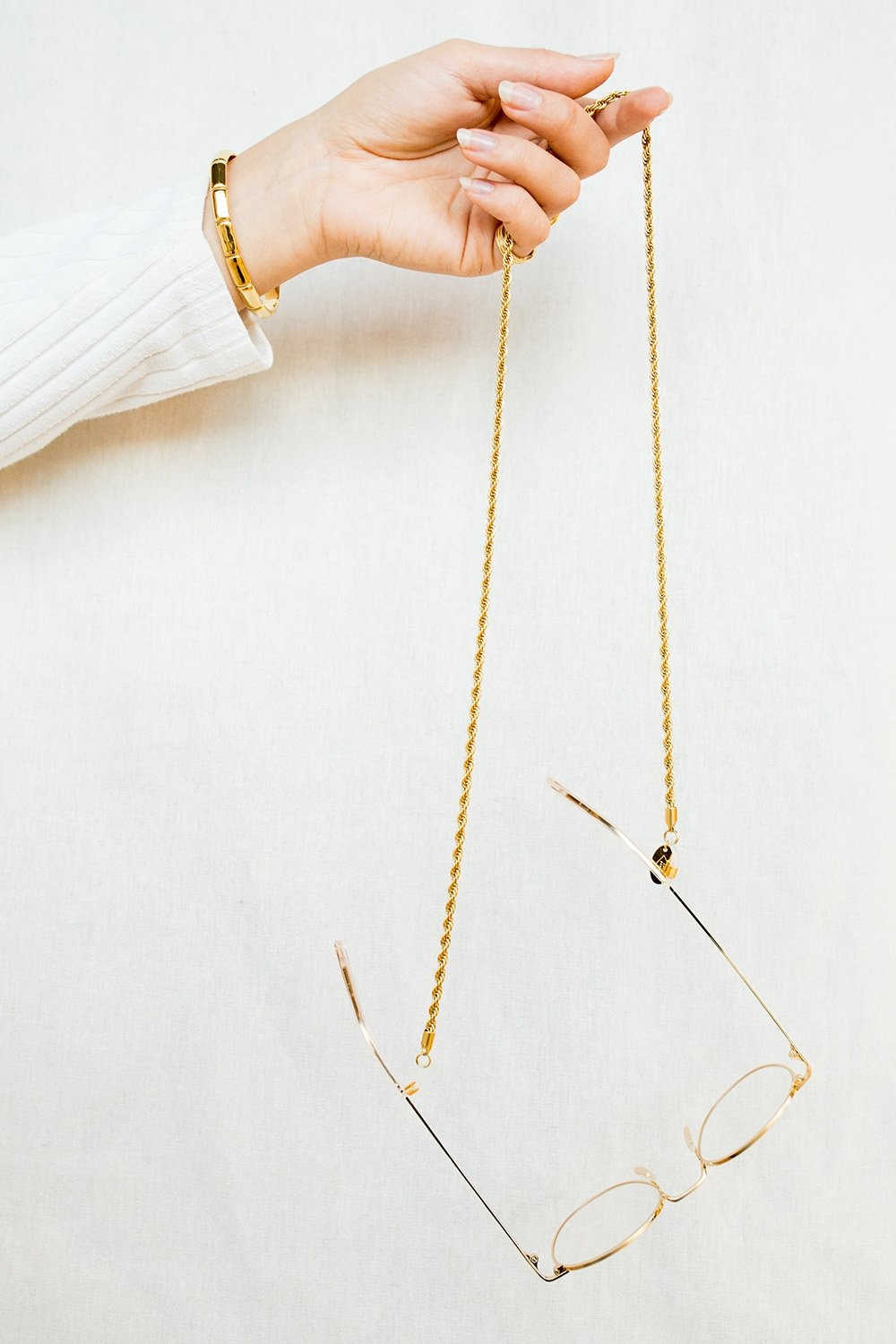 Sunnycord snake chain gold-3