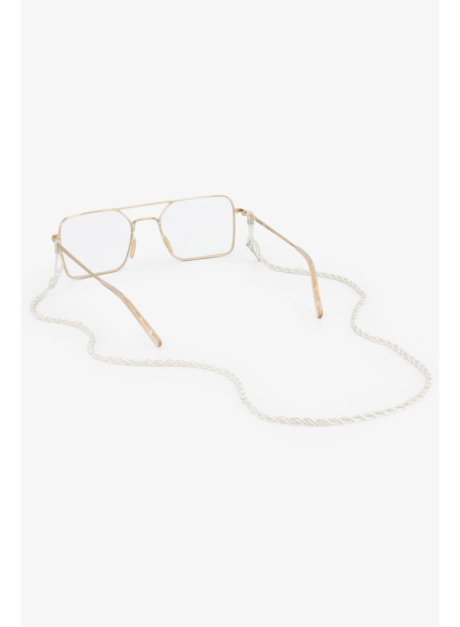 Sunnycord snake chain silver