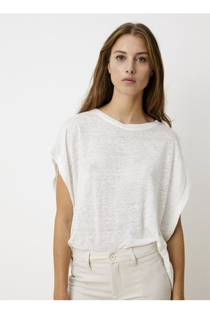 T-shirt Batwing tee Star White