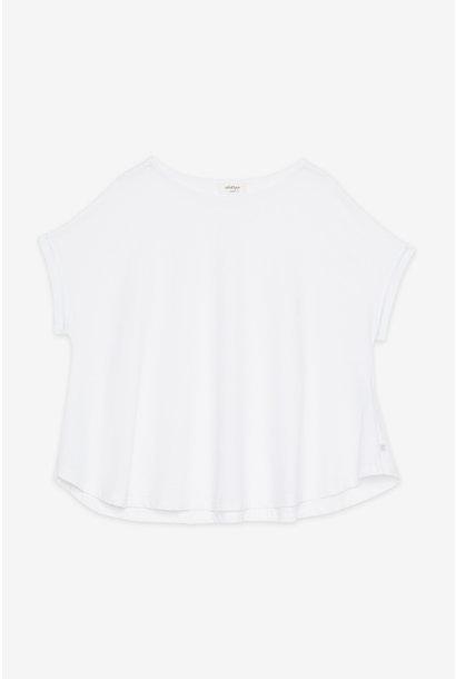 T-shirt maglia shirt white cotton