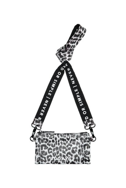 Tas mini pouch leopard