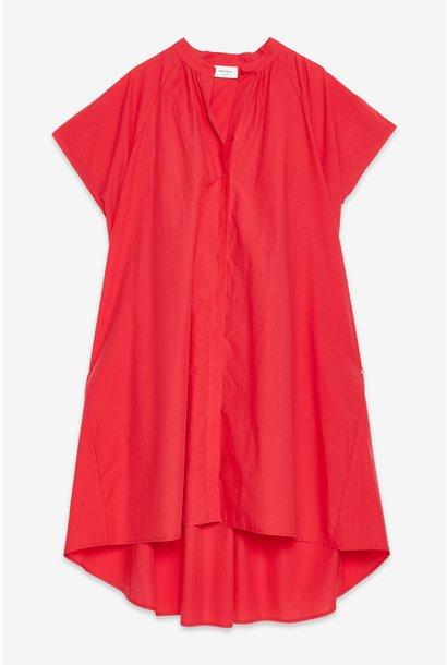 Jurk Abito Rosso cotton