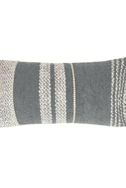 Kussen Berber 35x60cm Grey