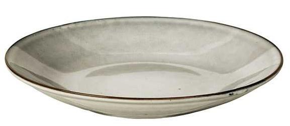 Bord Nordic Sand - Pasta plate-1
