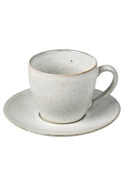 Mok Nordic Sand Cup w/saucer S