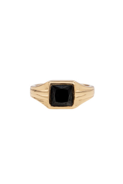 Ring chérie square black