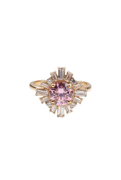 Ring chérie sun light pink clear