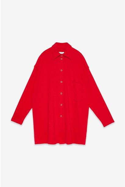 Vest Camicia shirt Rosso cotton