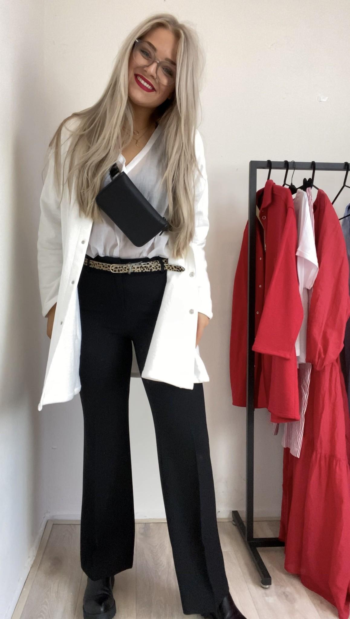 Vest Camicia shirt panna cotton-1