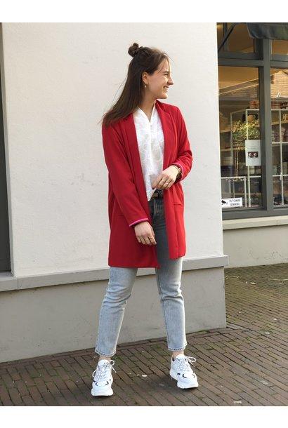 Blazer Giacca Jacket rosso