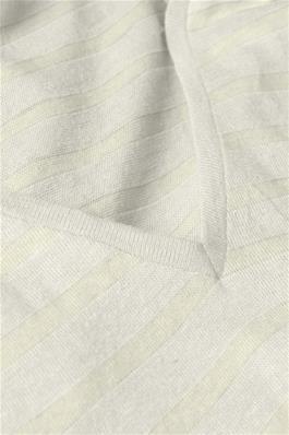 T-shirt Stassie Striped Chalk-2
