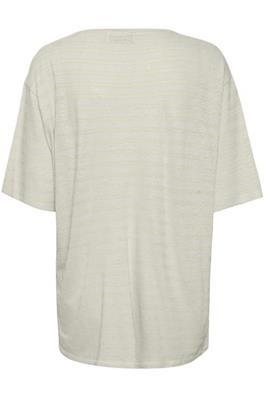 T-shirt Stassie Striped Chalk-3