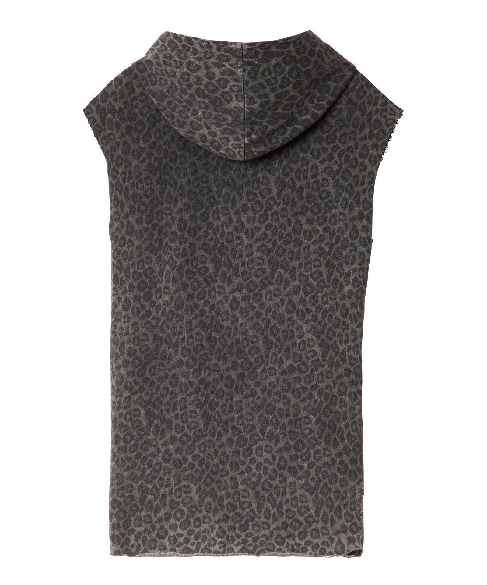 Jurk hoodie fade out leopard Pavement Kklup