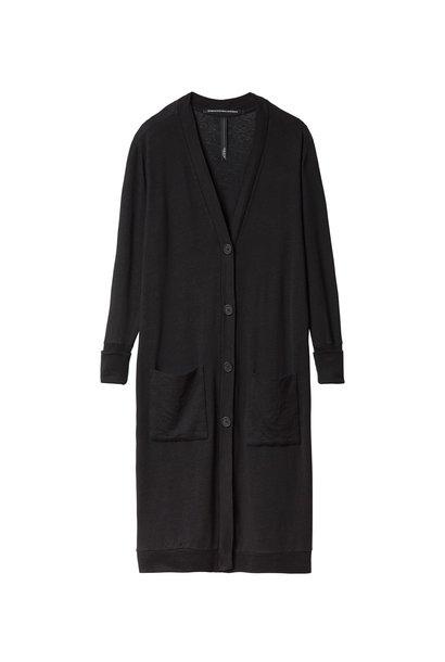 Vest Linen Black