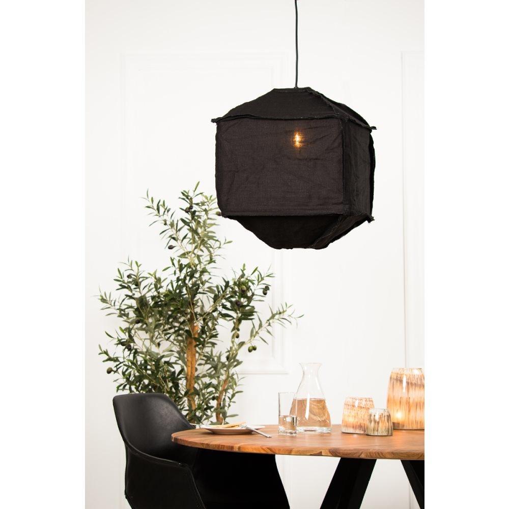 Hanglamp Titan Ø60x40cm Zwart-4