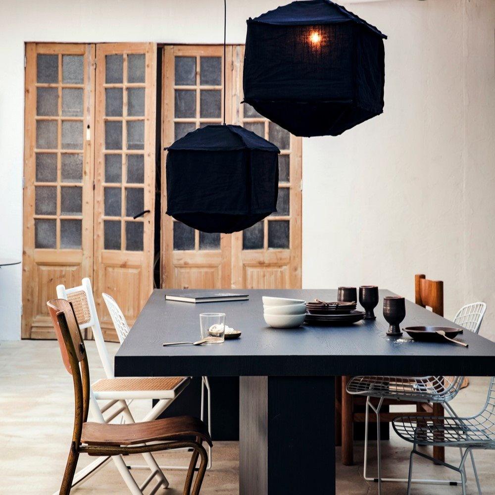 Hanglamp Titan Ø60x40cm Zwart-2