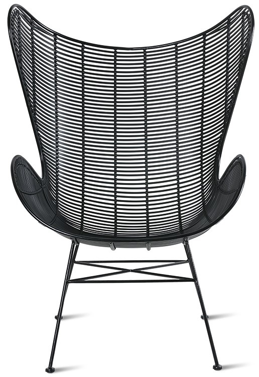Stoel outdoor egg chair black-3