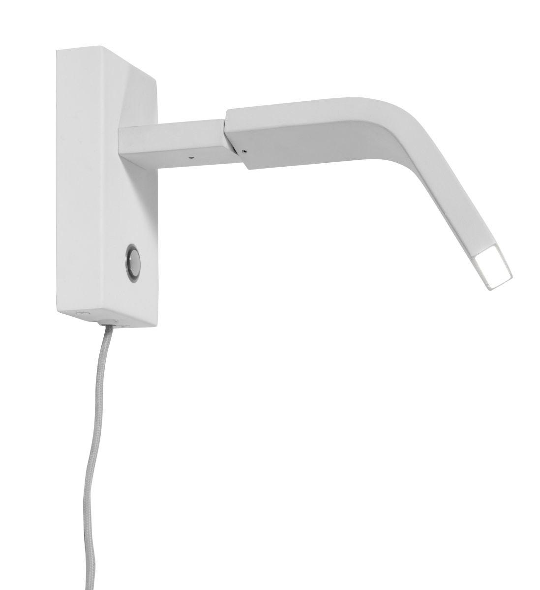 Wandlamp Zurich LED white-1