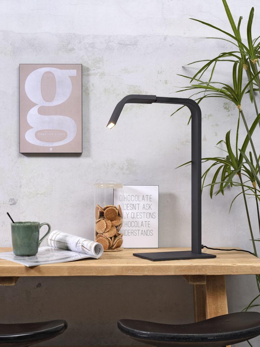 Tafellamp Zurich LED black-2