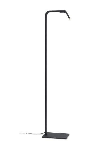 Vloerlamp Zurich LED black
