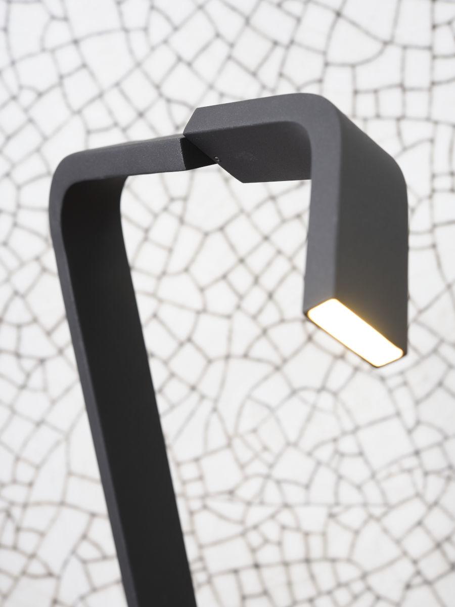 Vloerlamp Zurich LED black-4