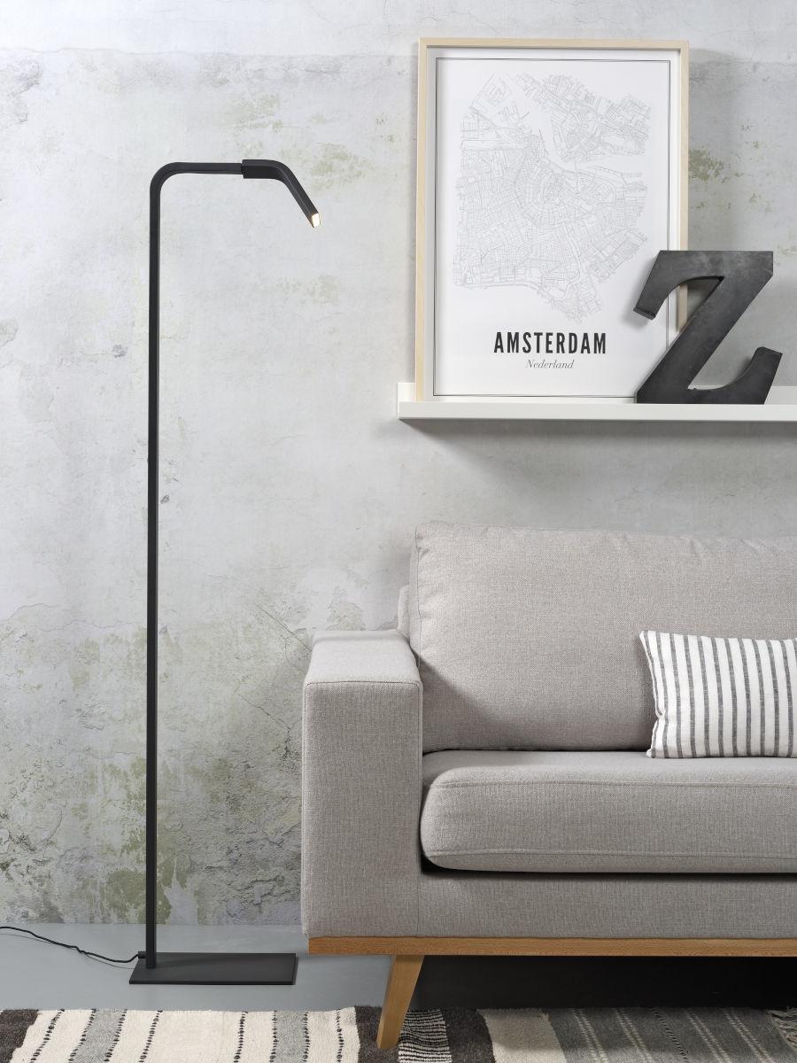Vloerlamp Zurich LED black-2