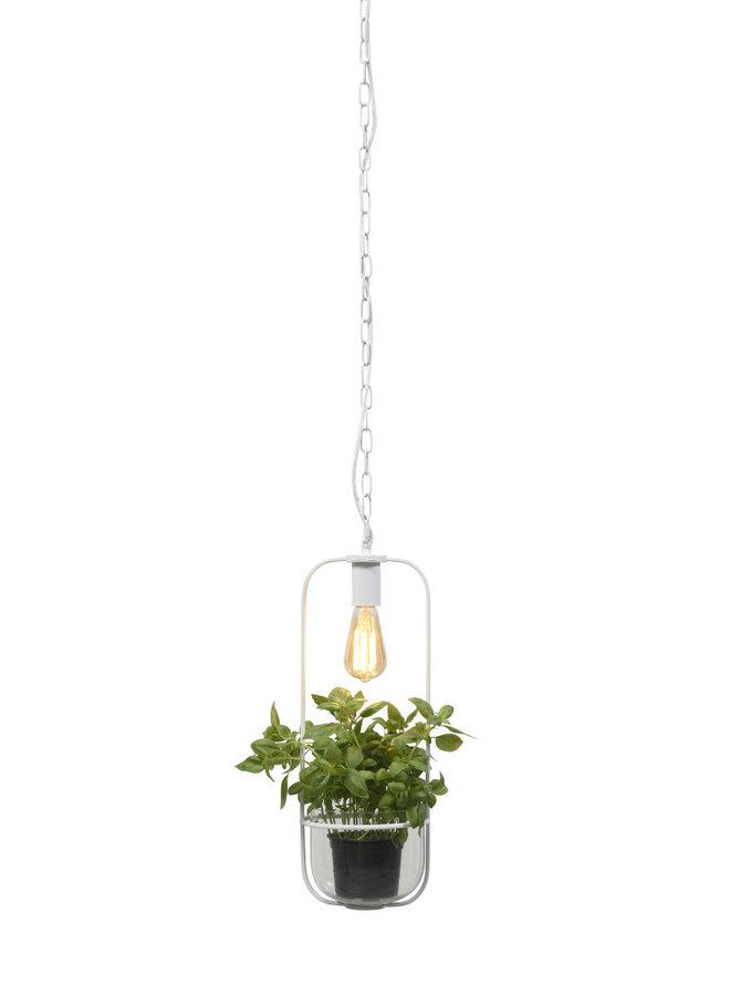 Hanglamp Florence white