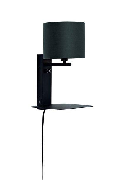 Wandlamp Florence 1815 black